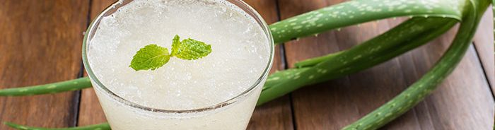 Aloe Vera Juice in cup